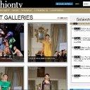 Fashion tv website shot