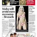 Times of Malta front page 12/05/12