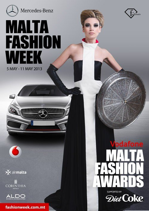 Mercedes-Benz Malta Fashion 2013 campaign image